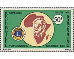 Ref. 194018 * MNH * - GABON. 1975. 17th LIONS CLUB CONGRESS . 17 CONGRESO DEL LIONS CLUB - Gabon