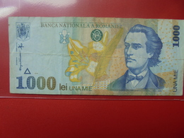 ROUMANIE 1000 LEI 1998 CIRCULER - Romania