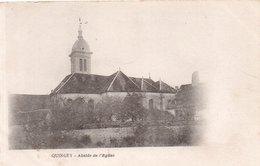"""QUINGEY """"Abside De L'église""""(CA NUITS ST GEORGES) - France"""