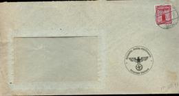 P0939 - DR NSDAP Dienstpost Briefumschlag: Gebraucht Ortsgruppe Güglingen - Heilbronn 1941, Bedarfserhaltung. - Briefe U. Dokumente