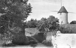 NOIRMOUTIER  -  Moulin A Vent De A MOUGENDERIE - Noirmoutier