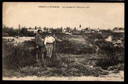51 - CERNAY EN DORMOIS - Les Ruines Du Village En 1918 - France