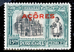 !■■■■■ds■■ Azores 1926 AF#245* Independence First Issue 15 Monuments (x12533) - Azores