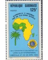 Ref. 600815 * MNH * - GABON. 1989. LIONS CLUB INTERNACIONAL - Gabon
