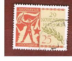 JUGOSLAVIA (YUGOSLAVIA)   - SG 1097   -    1963 20^ ANNIVERSARY OF YUGOSLAV DEMOCRATIC FEDERATION  -   USED - 1945-1992 Repubblica Socialista Federale Di Jugoslavia