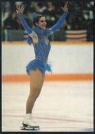 C5021 - TOP Katarina Witt DDR - Autogrammkarte Junge Welt - Eiskunstlauf - Handtekening