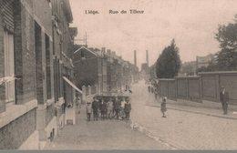 Liège - Saint-Nicolas - Rue De Tilleur - Vue Très Animée - 2 Scans - Saint-Nicolas