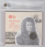 Great Britain UK £2 Coin Samuel Pepys - Brilliant Uncirculated BU - 1971-… : Monete Decimali