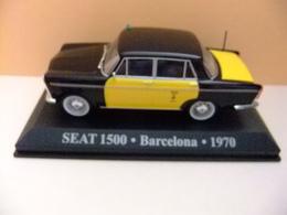 SEAT 1500 TAXI DE BARCELONA 1970 - Carros