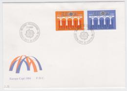 Finland 1984 FDC Europa CEPT (DD11-22) - 1984