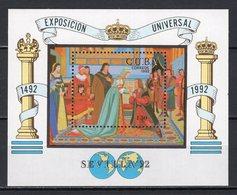 CUBA - 1992 SEVILLE WORLD FAIR  M1093 - 1992 – Séville (Espagne)