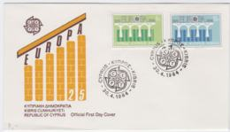 Cyprus 1984   FDC Europa CEPT (DD11-4) - 1984
