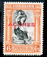 !■■■■■ds■■ Azores 1926 AF#270* Independence Third Issue 6 (x12538) - Azores