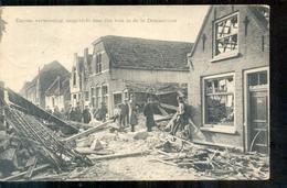 Zierikzee - St Domusstraat - Verwoesting - Bom - 1917 - Zierikzee