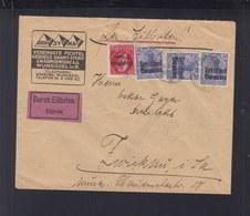 Bayern Expres Brief 1919 Aufdrucke - Bayern