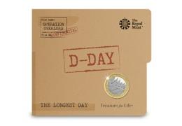Great Britain UK £2 Coin D Day Landings - Brilliant Uncirculated BU - 1971-… : Monete Decimali