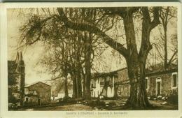 SANTU LUSSURGIU (  ORISTANO )  LOCALITA DI S. LEONARDO . ED. DITTA FEDE -  CENSURA MILITARE - 1939 (3262) - Oristano
