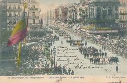 CPA - Belgique - Brussels - Bruxelles - Anniversaire De L'Indépendance - Défilé Des Ecoles - Fêtes, événements