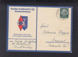 Dt. Reich PK Landdienst Der HJ Artamanenbewegung 1935 Gelaufen - Weltkrieg 1939-45