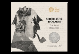 Great Britain UK 50p Coin Sherlock Holmes - Brilliant Uncirculated BU - 50 Pence
