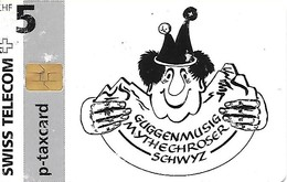 Swiss Telecom: PC 05/97 Guggenmusig Mythechroseer Schwyz - Schweiz