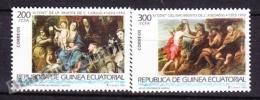 Equatorial Guinea -  Guinea Ecuatorial - Guinée Équatoriale 1993 Edifil 162-63, Great Masters Of Painting - MNH - Guinea Ecuatorial