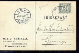 Hoogeveen - Wed J Admiraal Veevoeder Kunstmesthandel - 1913 - 1891-1948 (Wilhelmine)