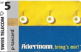 Swiss Telecom: PC 05/97 Ackermann Versandhaus - Schweiz