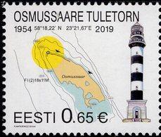 Estonia - 2019 - Osmussaare Lighthouse - Mint Stamp - Estonie