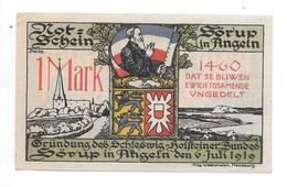 **notgeld Sorup 1 Mark  1231.2a Cat Val 2,00 Euro - [11] Emissions Locales