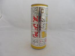 COCA COLA® LIGHT LEMON CANETTE VIDE 2004 25 Cl - Cannettes