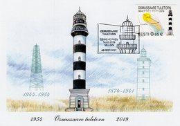 Estonia - 2019 - Osmussaare Lighthouse - Maximum Card - Estonia