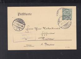 Dt. Reich Dienst-PK 1903 Rottenburg Fulda - Oficial
