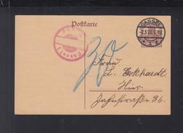 Dt. Reich GSK Kassel 1920 Nachporto - Deutschland
