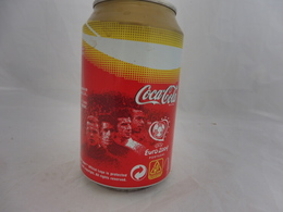 COCA COLA® CANETTE VIDE FOOTBALL EURO 2004 PORTUGAL 2005 ESPAGNE 33 Cl - Cannettes