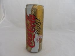 COCA COLA® LIGHT SANS CAFEINE CANETTE VIDE 2006 FRANCE 33 Cl - Cans