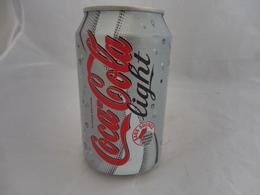 COCA COLA® LIGHT SANS SUCRE CANETTE VIDE 2006 FRANCE 33 Cl - Cannettes
