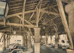 2 CPA GIMONT -la Halle -le Pont - Autres Communes