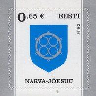 Estonia - 2019 - Coats Of Arms - Narva - Mint Self-adhesive Definitive Stamp - Estland