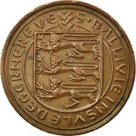 Monnaie, Guernsey, Elizabeth II, 2 Pence, 1979, Heaton, TB+, Bronze, KM:28 - Guernesey