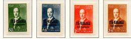PIA - FINL- CARELIA ORIENTALE - 1942 : Francobolli Di Finlandia (Presidente Risto Ryti) Sovrastampati  - (Yv  22-27) - Finland