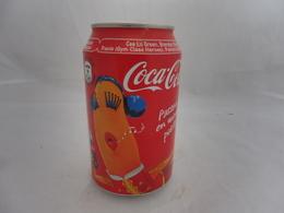 COCA COLA® CANETTE VIDE PASSEZ EN MODE POSITIF! 2010 FRANCE 33 Cl - Cannettes