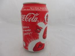 COCA COLA® CANETTE VIDE PASSEZ EN MODE POSITIF! 2010 FRANCE 33 Cl - Cans