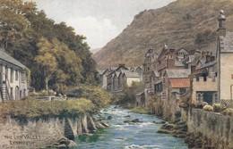 Postcard The Lynn Valley Lynmouth ARQ Quinton [ Salmon ] My Ref  B13228 - Lynmouth & Lynton