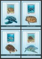 2019-04-  GUINEE  - TURTLES   1V    MNH** - Turtles