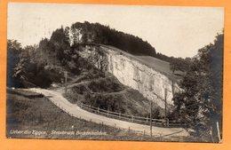 Ueber Die Eggen Steinbruch Beckenhalden Swizterland 1922 Postcard - SG St. Gall