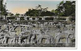 INDOCHINE- Francaise  Angkor- Thom  Terrasse Royale Cité Des éléphants. - Cambodge