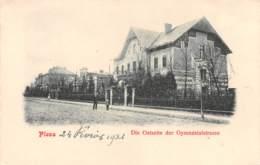 Pologne - Pless - Coté Est De La Rue Du Gymnase - Pologne