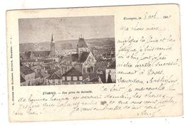 CPA Etampes Vue Prise De Guinette 91 Essonne - Etampes