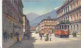 Innsbruck - Museumstrasse Mit Tram       (190507) - Innsbruck